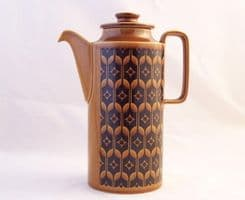 Hornsea Pottery Heirloom Autumn Brown Coffee Pot
