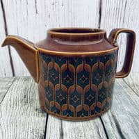 Hornsea Pottery Heirloom Autumn Brown Lidless Teapot