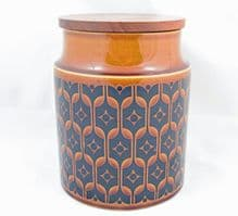 Hornsea Pottery Heirloom Autumn Brown Medium Unlabelled Storage Jars
