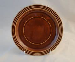 Hornsea Pottery Heirloom Autumn Brown Saucers for the Vertically Sided Soup/Cereal/Dessert Bowls