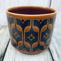 Hornsea Pottery Heirloom Autumn Brown Sugar Bowl
