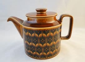Hornsea Pottery Heirloom Autumn Brown Tea Pots