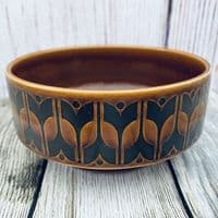 Hornsea Pottery Heirloom Autumn Brown Vertically Sided Bowl