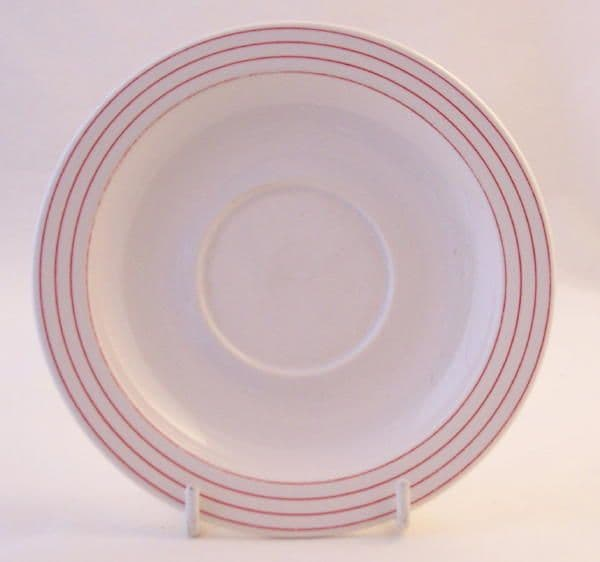 Hornsea Pottery Linear Tea Saucers