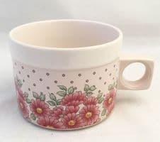 Hornsea Pottery Passion Tea Cups