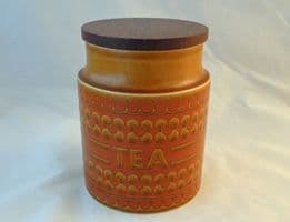 Hornsea Pottery Saffron Medium Storage Jar (Tea)