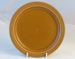 Hornsea Pottery Saffron Tea Plates, Some Crazing