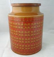 Hornsea Pottery Saffron Unlabelled Storage Jars (Large)