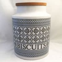 Hornsea Pottery Tapestry  Biscuits Storage Jars