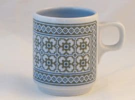 Hornsea Pottery Tapestry Demi-tasse Coffee Cups
