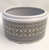 Hornsea Pottery Tapestry Lidless Circular Butter Dishes
