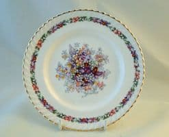 Johnson Bros (Brothers) Old English, Queens Bouquet Tea Saucers