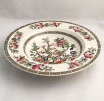 """Johnson Bros Indian Tree 9"""" Rimmed Soup Bowls"""