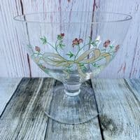 Johnson Brothers (Bros) Eternal Beau Footed Glass Bowl