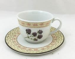 Johnson Brothers (Bros) Fruit Sampler Demi Tasse Coffee Cups and Saucers