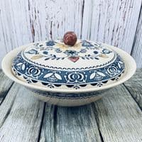 Johnson Brothers (Bros) Hearts & Flowers Lidded Serving Dish