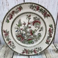 """Johnson Brothers (Bros) Indian Tree Dinner Plate  (9.75"""")"""