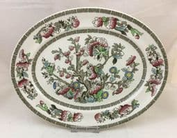 Johnson Brothers (Bros) Indian Tree Oval Dinner Plates