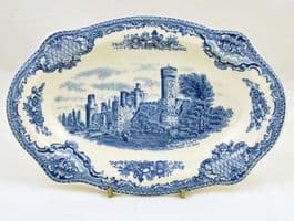 Johnson Brothers (Bros) Old Britain Castles, Blue