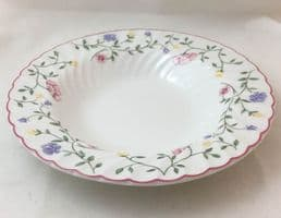 Johnson Brothers (Bros) Summer Chintz Rimmed Soup Bowls