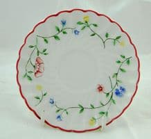 Johnson Brothers (Bros) Summer Chintz Saucers for Demi-tasse Coffee Cups