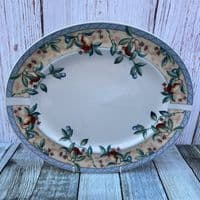 """Johnson Brothers Golden Pears Oval Platter, 14"""""""