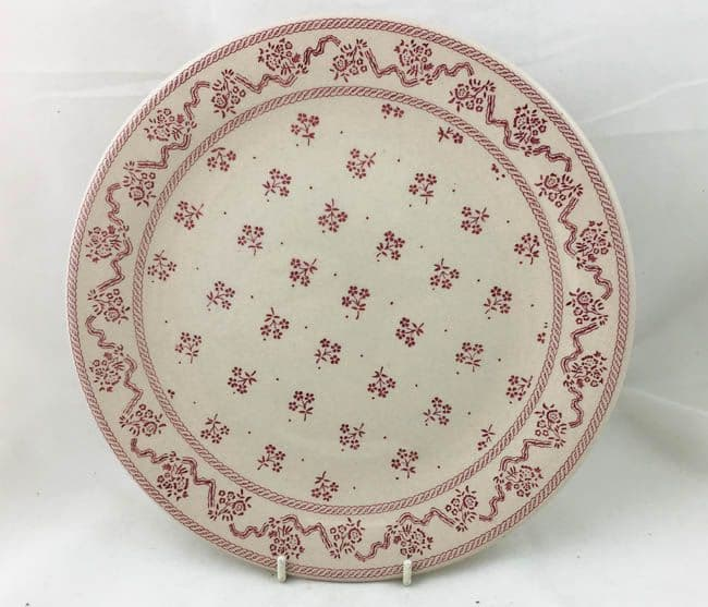 Johnson Brothers Laura Ashley Pink Petite Fleur Dinner Plates