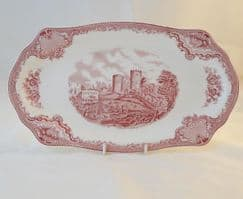Johnson Brothers Old Britain Castles - Pink - Sandwich Platter
