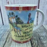 """Johnson Brothers. Born to Shop Mug, """"Would you like to speak to the man in charge"""""""