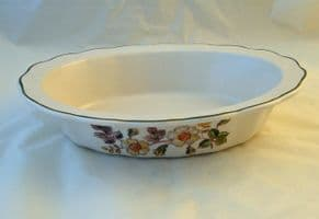Marks and Spencer Autumn Leaves Oval Rimmed Serving Bowls