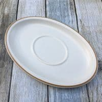 Marks and Spencer Harvest Gravy Boat Saucer (Rounded)