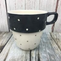 Marks and Spencer Spotty Mug (Black)