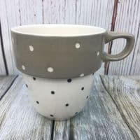 Marks and Spencer Spotty Mug (Brown)