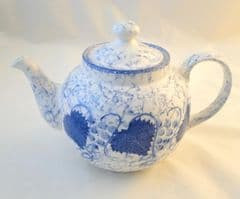 Poole Pottery Blue Vine/Blue Leaf