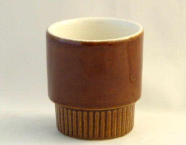 Poole Pottery Chestnut Egg Cups
