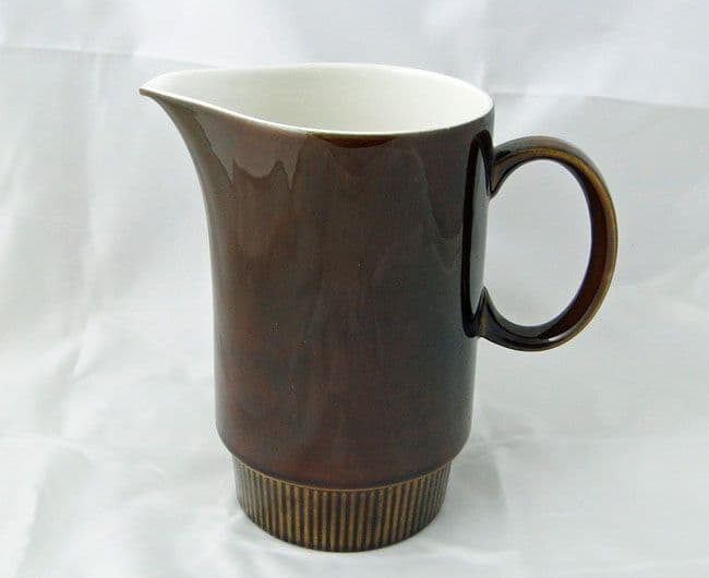 Poole Pottery Chestnut Large Milk Jugs