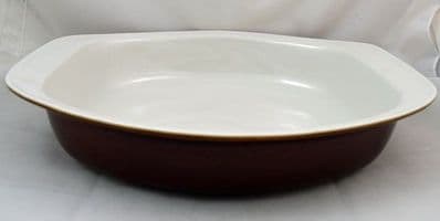 Poole Pottery Chestnut Large Open Serving Dishes
