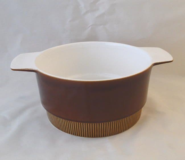 Poole Pottery Chestnut Lug Handled Open Serving Dishes