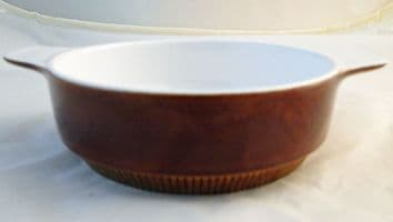 Poole Pottery Chestnut Lug Handled Soup/Dessert Bowls