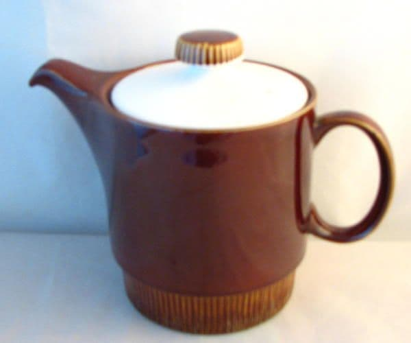 Poole Pottery Chestnut Small Tea Pots