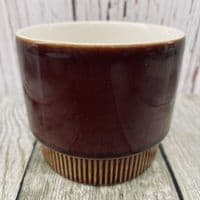 Poole Pottery Chestnut Sugar Bowl