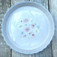 Poole Pottery Dawn Ballet Quiche/Flan Dish