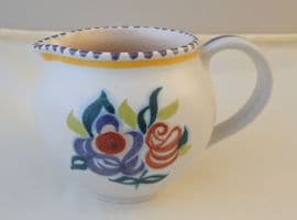 Poole Pottery Hand Painted Small Traditional Jug in the KN Pattern