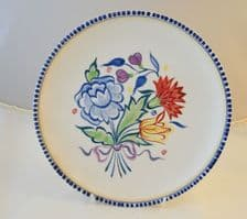Poole Pottery Hand Painted Traditional BN Plate