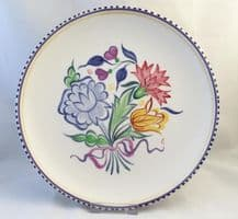Poole Pottery Hand Painted Traditional BN Plate (No 3)