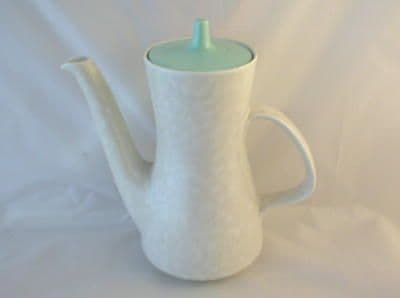 Poole Pottery Ice Green and Seagull Coffee Pot