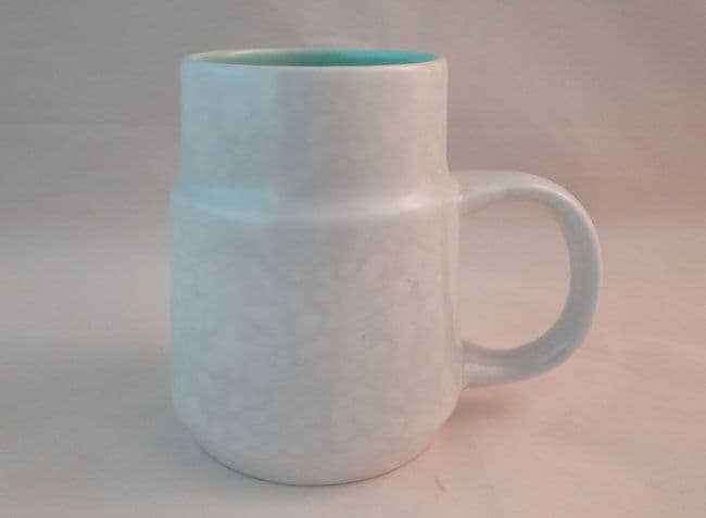 Poole Pottery Ice Green and Seagull Mugs