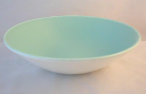 Poole Pottery Ice Green Dessert Bowls, Second Quality