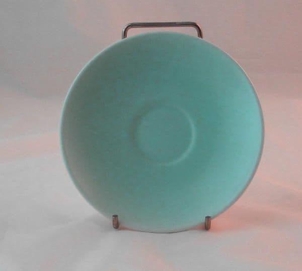 Poole Pottery Ice Green Saucers for Demi-tasse Coffee Cups