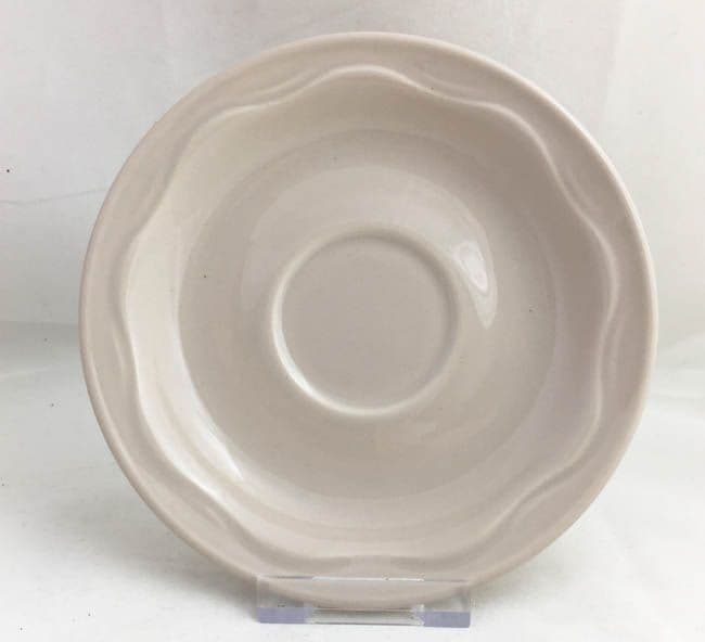 Poole Pottery Kismet Tea Saucers (Without Patterning)